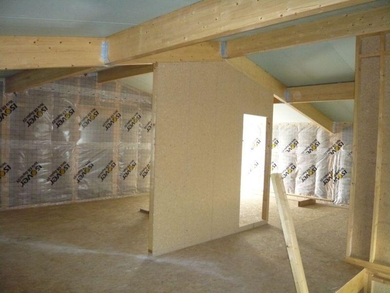 l ossature bois notre futur maison. Black Bedroom Furniture Sets. Home Design Ideas