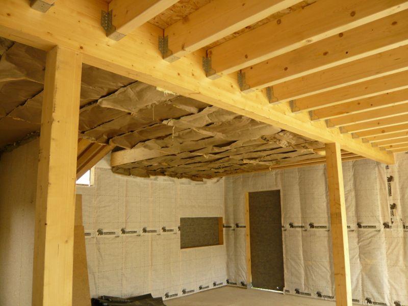 5 la construction notre futur maison for Construction faux plafond